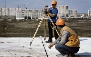 Работы в составе инженерно-геодезических изысканий